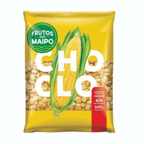 Foto CHOCLO EN GRANOS 500GR FRUTOS DEL MAIPO PAQUETE  de