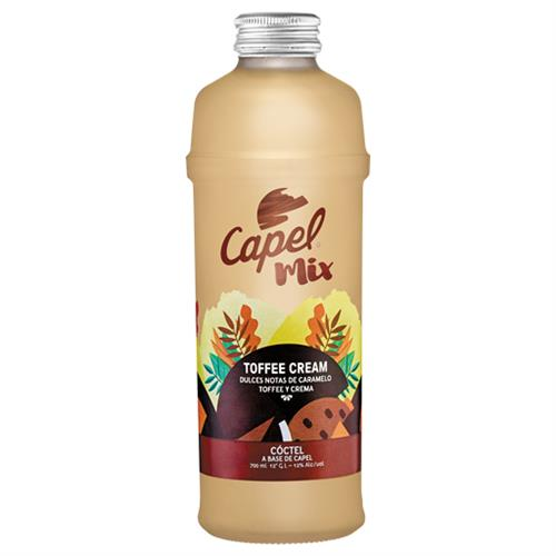 Foto COCTEL TOFEE CREAM COLADA 700ML CAPEL BOTELLA de