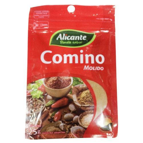 Foto COMINO MOLIDO 25GR ALICANTE BSA de