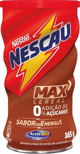 Foto NESTLE NESCAU CHOCOLATE EN POLVO MAX CEREAL 165 GR de