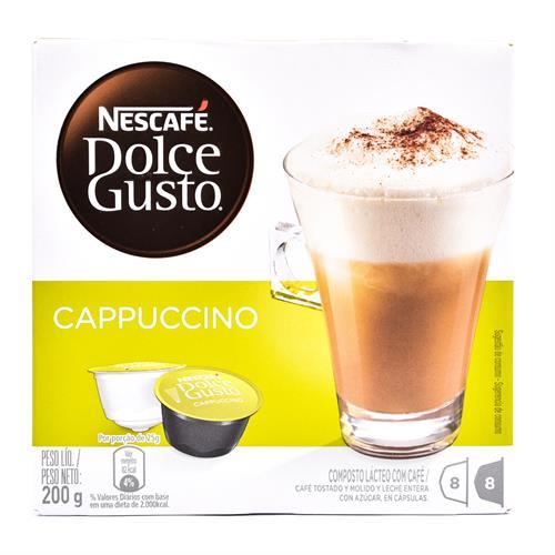 Foto CAFÉ NESCAFE DOLCE GUSTO CAPPUCCINO 8 CÁPSULAS de