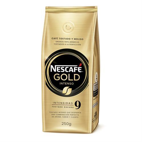 Foto CAFE TOSTADO Y MOLIDO NESCAFE GOLD INTENSO 250 GR de