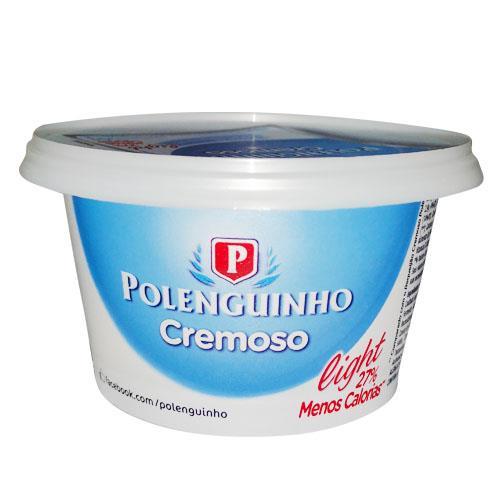 Foto QUESO CREMOSO LIGHT 150GR POLENGUINHO POT de
