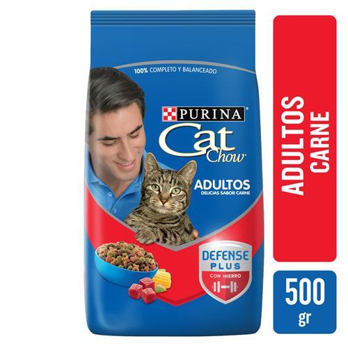 Foto ALIMENTO PARA GATO ADULTO DELICIAS DE CARNE 500 GR CAT CHOW BSA de