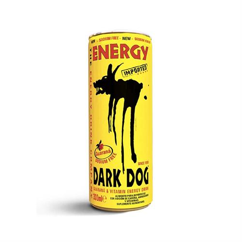 Foto ENERGIZANTE GUARANA 330 ML DARK DOG LATA de