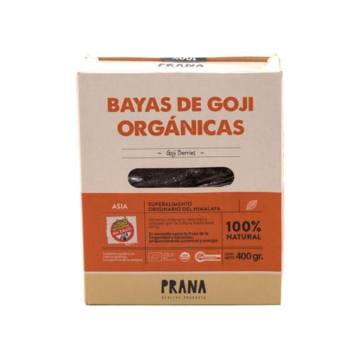 Foto BAYAS DE GOJI ORGNICAS 400 GR PRANA CAJA  de
