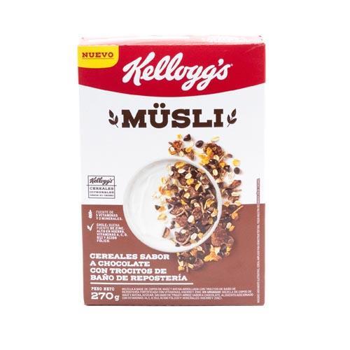 Foto CEREAL MUSLI CHOCOLATE KELLOGGS 270GR CJA de