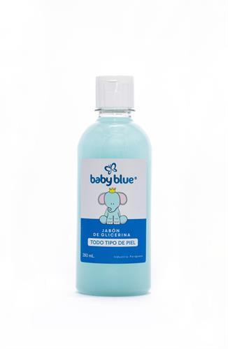 Foto JABON LIQUIDO BABY BLUE TODO TIPO DE PIEL REPUESTO 350ml de