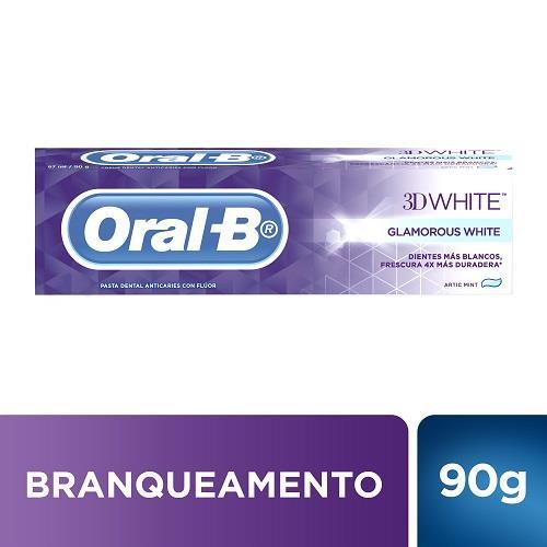 Foto PASTA DENTAL ORAL-B 3D WHITE GLAM 90GR de
