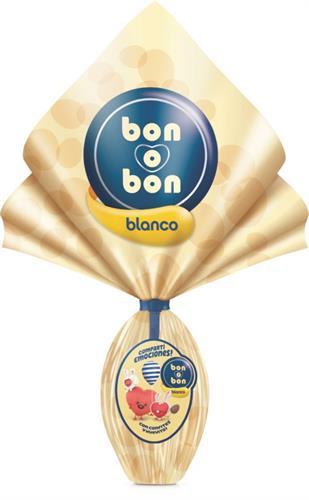 Foto HUEVO DE PASCUA BLANCO BON O BON ARCOR 110GR de