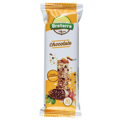 Foto BARRA DE CEREAL CHOCOLATE BROTERRA 30GR de