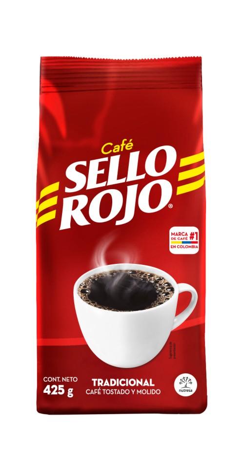 CAFÉ TRADICIONAL SELLO ROJO 425GR