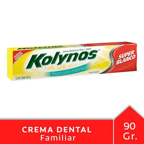 Foto CREMA DENTAL SUPER BLANCO KOLYNOS 90gr de