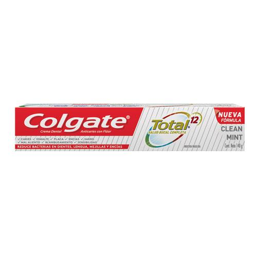Foto CREMA DENTAL TOTAL 12 COLGATE 140gr de