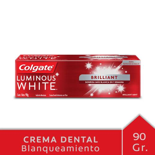 Foto CREMA DENTAL LUMINOUS WHITE COLGATE 90gr de