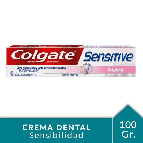 Foto CREMA DENTAL SENSITIVE ORIGINAL COLGATE 100gr de