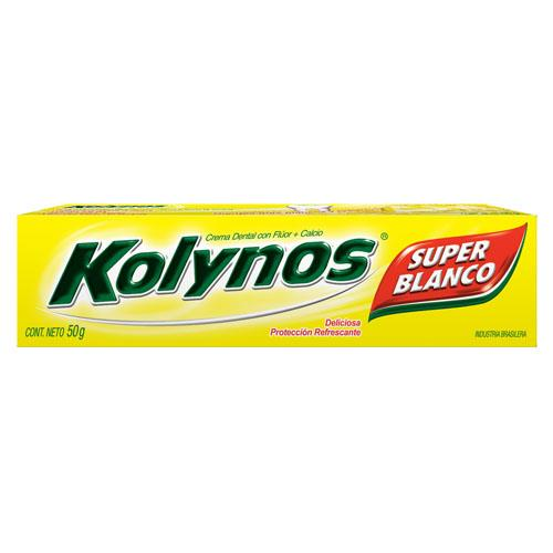 Foto CREMA DENTAL SUPER BLANCO KOLYNOS 50gr de