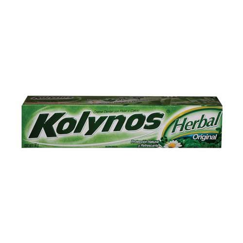 Foto CREMA DENTAL HERBAL ORIGINAL KOLYNOS 90gr de
