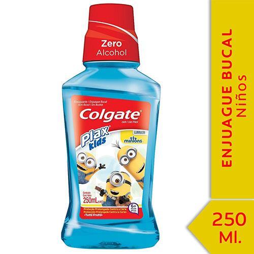 Foto ENJUAGUE BUCAL PLAX KIDS COLGATE 250ml de