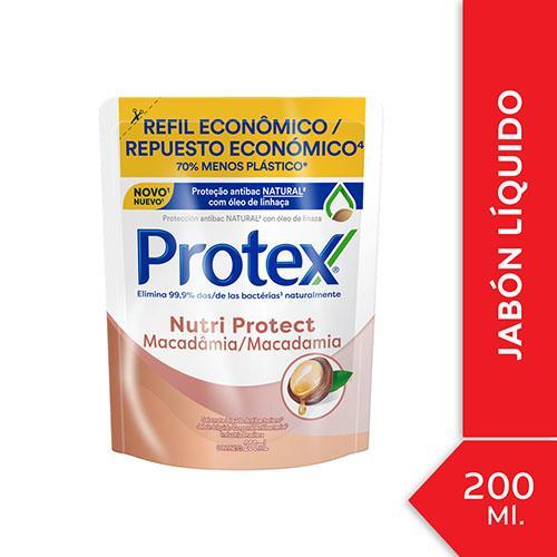 Foto JABON LIQUIDO NUTRI PROTECT PROTEK 200ml de