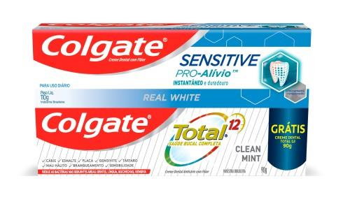 Foto PACK CREMA DENTAL SENSITIVE + TOTAL 12 COLGATE  de