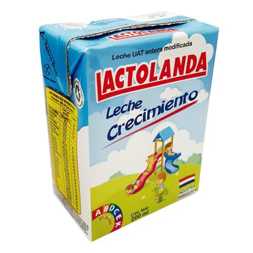 LECHE ENTERA CRECIMIENTO LACTOLANDA 200ml