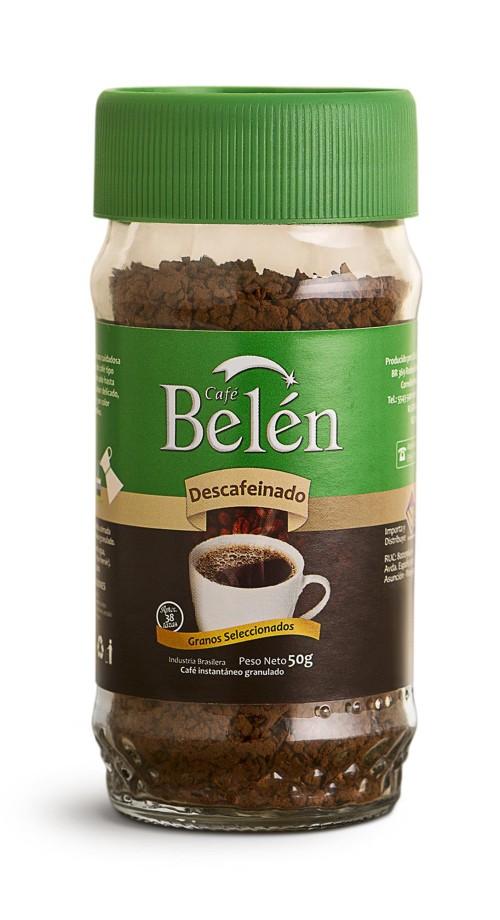 CAFE INSTANTANEO DESCAFEINADO BELEN 50gr