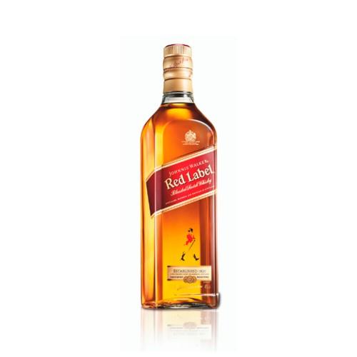 WHISKY RED LABEL JOHNNIE WALKER 1LT