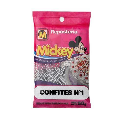 Foto CONFITES PLATA N°1 MICKEY 50GR de