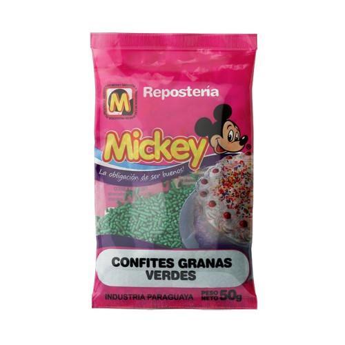 Foto CONFITES GRANAS VERDES MICKEY 50GR de
