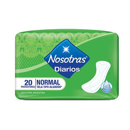 Foto PROTECTOR DIARIO NORMAL NOSOTRAS 20UNID de