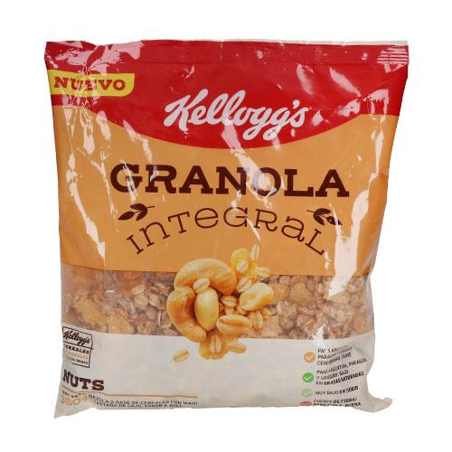 Foto GRANOLA INTEGRAL NUTS KELLOGGS 350GR de