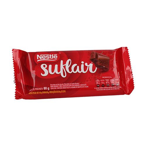 CHOCOLATE CON LECHE SUFLAIR NESTLE 80GR