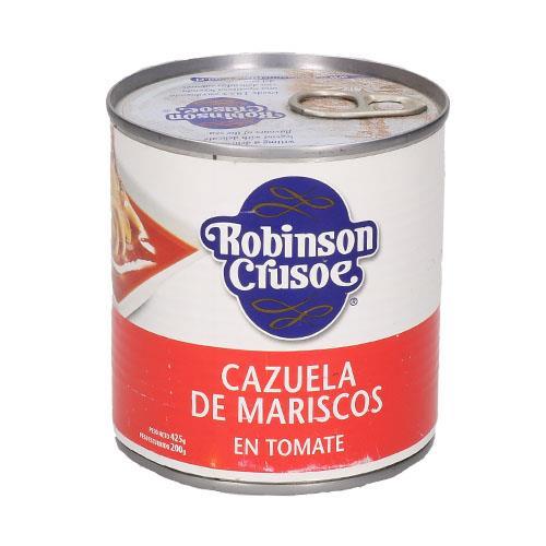 Foto CAZUELA DE MARISCOS EN TOMATE ROBINSON CRUSOE 425GR de