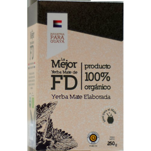 YERBA MATE ELABORADA LA MEJOR FD 250GR