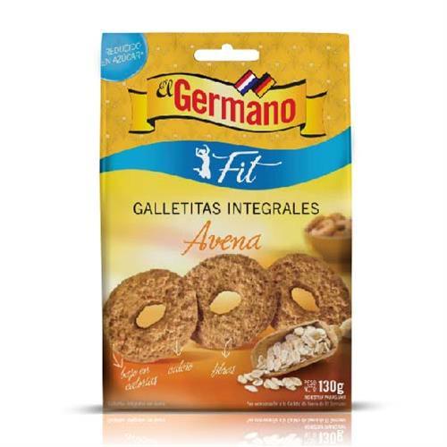 Foto GALLETITA INTEGRAL DIET CON AVENA EL GERMANO 130GR de