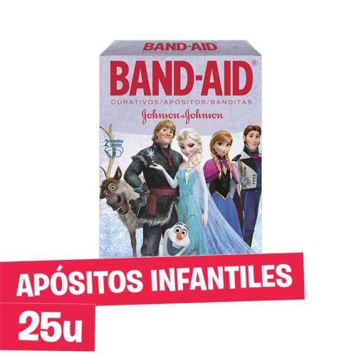 Foto CURITAS INFANTILES BAND AID 25UNID de