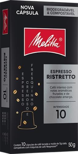 Foto CAFE ESPRESSO RISTRETTO EN CAPSULAS MELITTA 10UNID de