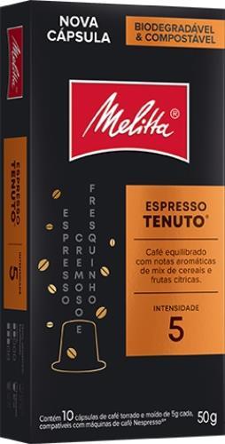 Foto CAFE ESPRESSO TENUTO EN CAPSULA MELITTA 10UNID de