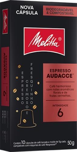 Foto CAFE ESPRESSO AUDACCE EN CAPSULAS MELITTA 10UNID de