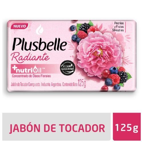 Foto JABON DE TOCADOR RADIANTE PLUSBELLE 125GR de