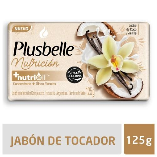 Foto JABON DE TOCADOR NUTRICION PLUSBELLE 125GR de