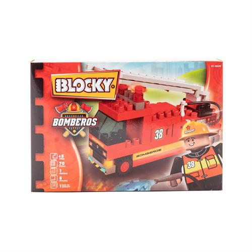 Foto BLOCKY BOMBEROS 1X85 PZ de