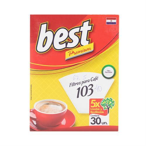 Foto BEST FILTROS DE PAPEL PARA CAFE REUTILIZABLES 103 30 UNIDAES de
