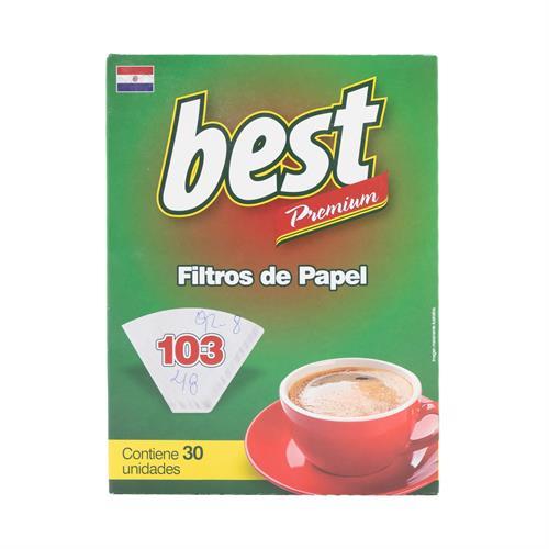 Foto BEST FILTROS DE PAPEL PARA CAFE 103 30 UNIDAES de