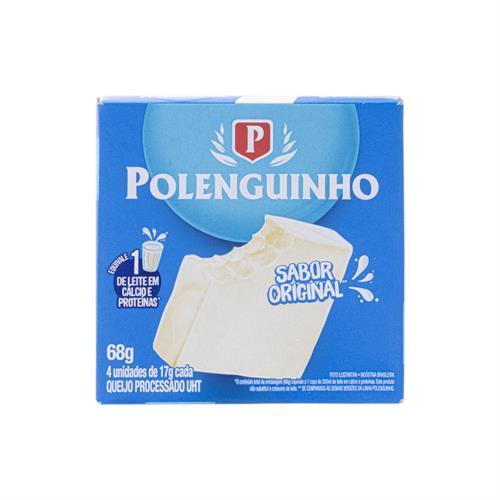 Foto QUESO POLENGUINHO 68GR CON 4 UNIDADES POLENGHI de