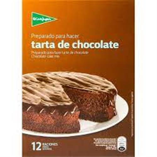 Foto PREPARADO PARA TARTA DE CHOCOLATE CORTE INGLES 350GR de