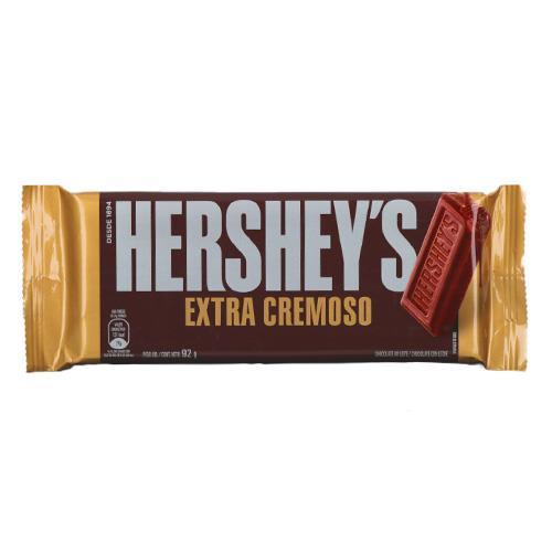 Foto CHOCOLATE EXTRA CREMOSO HERSHEYS 92GR de
